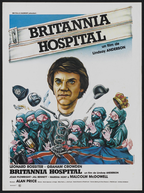 Britannia Hospital affiche