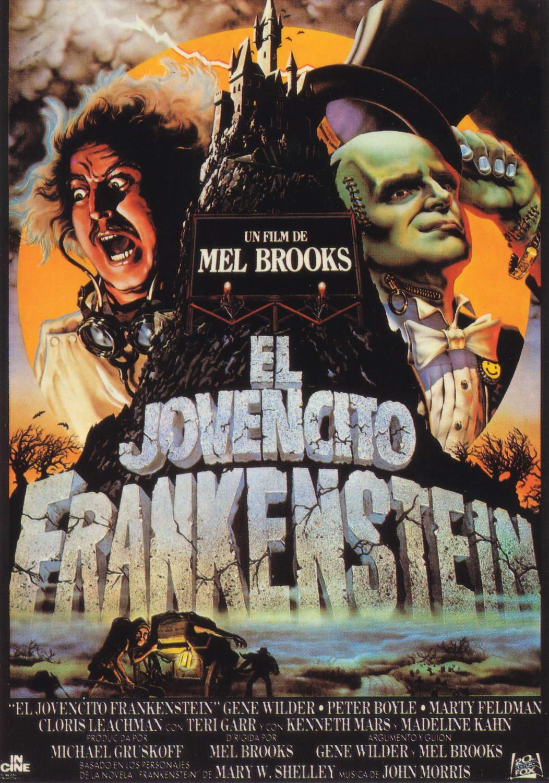 1974 Young Frankenstein - El jovencito Frankenstein (esp).jpg