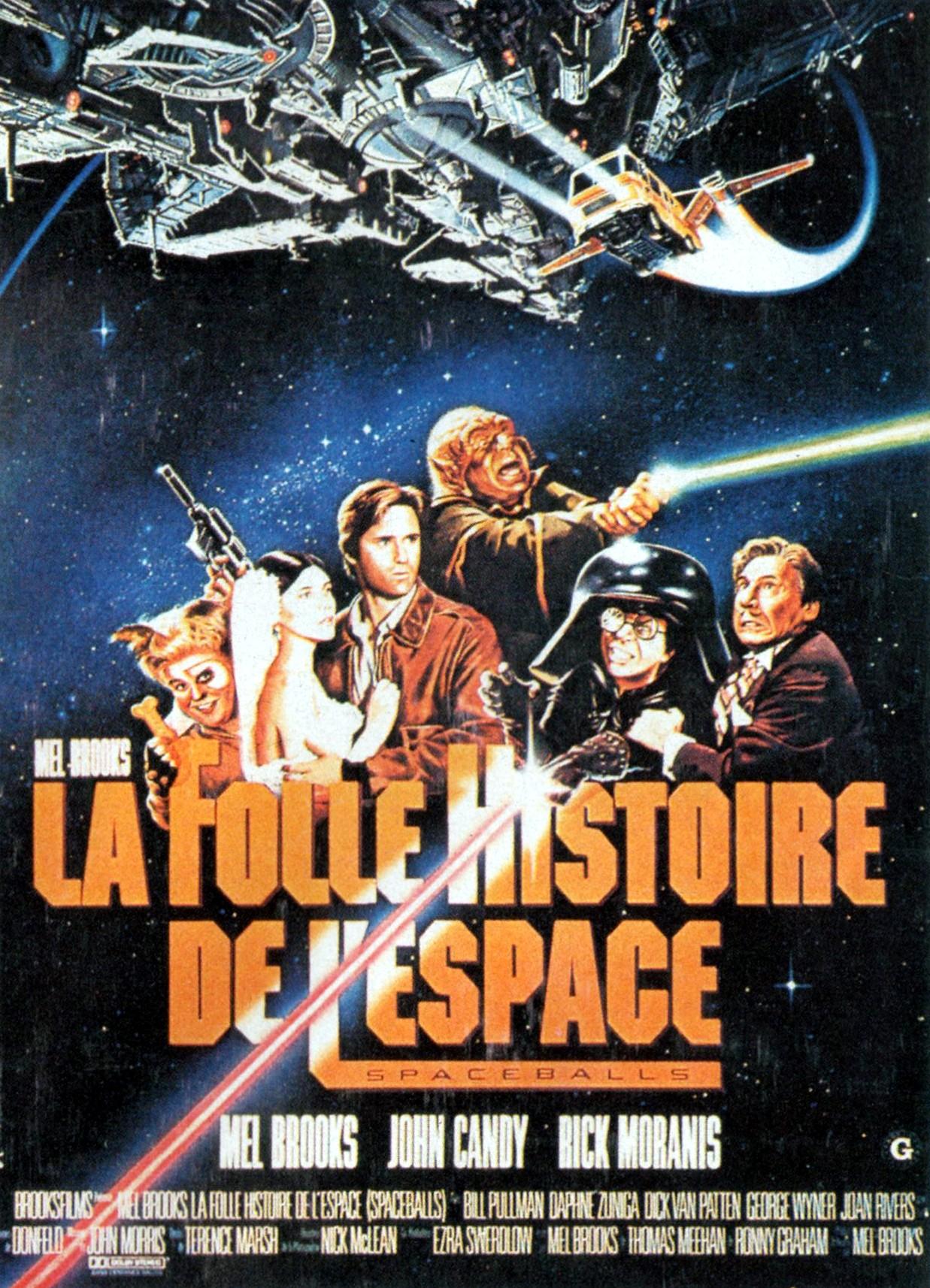 Una Pagina De Cine 1987 Spaceballs La Loca Historia De Las
