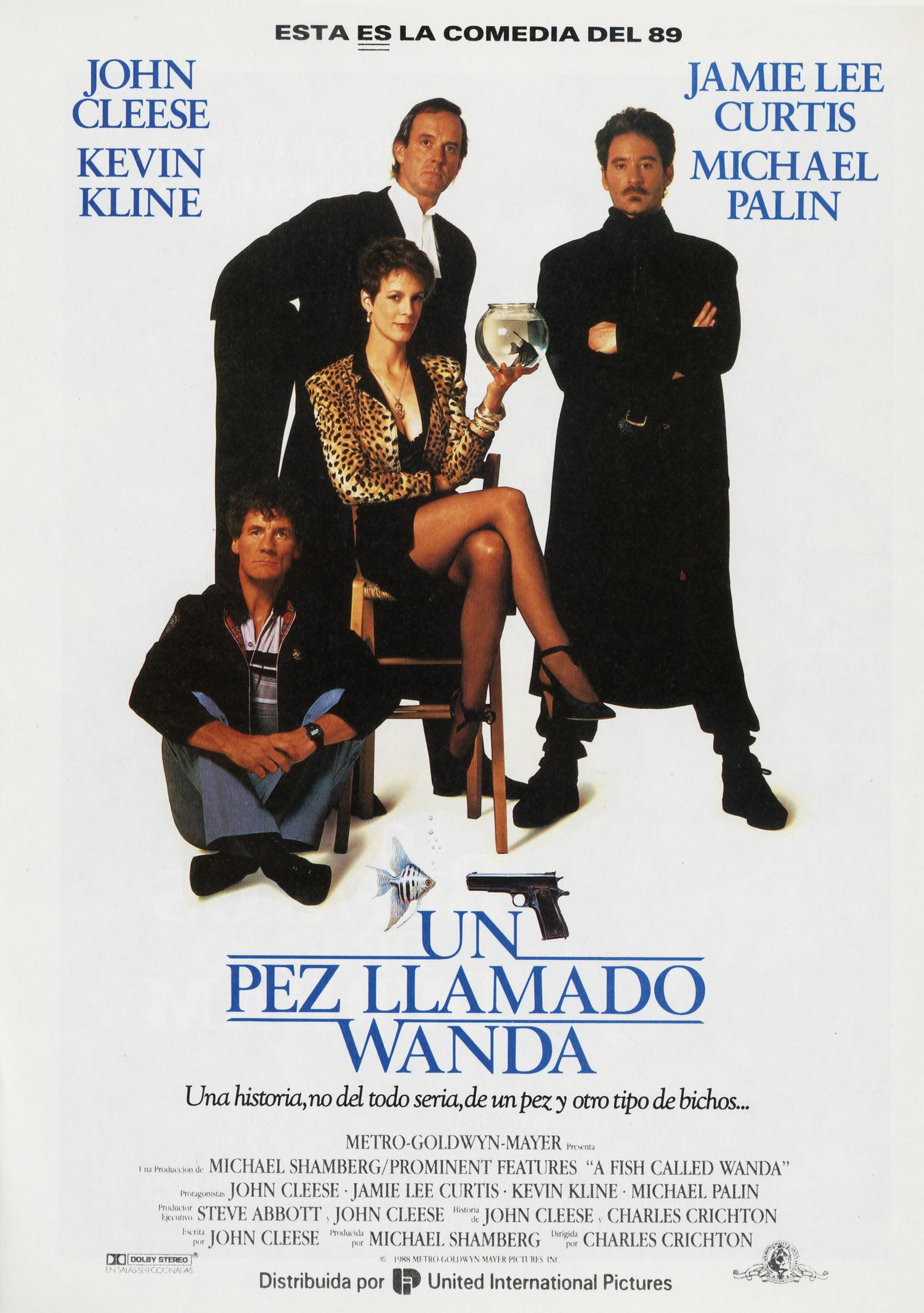 Una Pagina de Cine 1988 A fish called Wanda - Un pez llamado Wanda (esp) 01.jpg