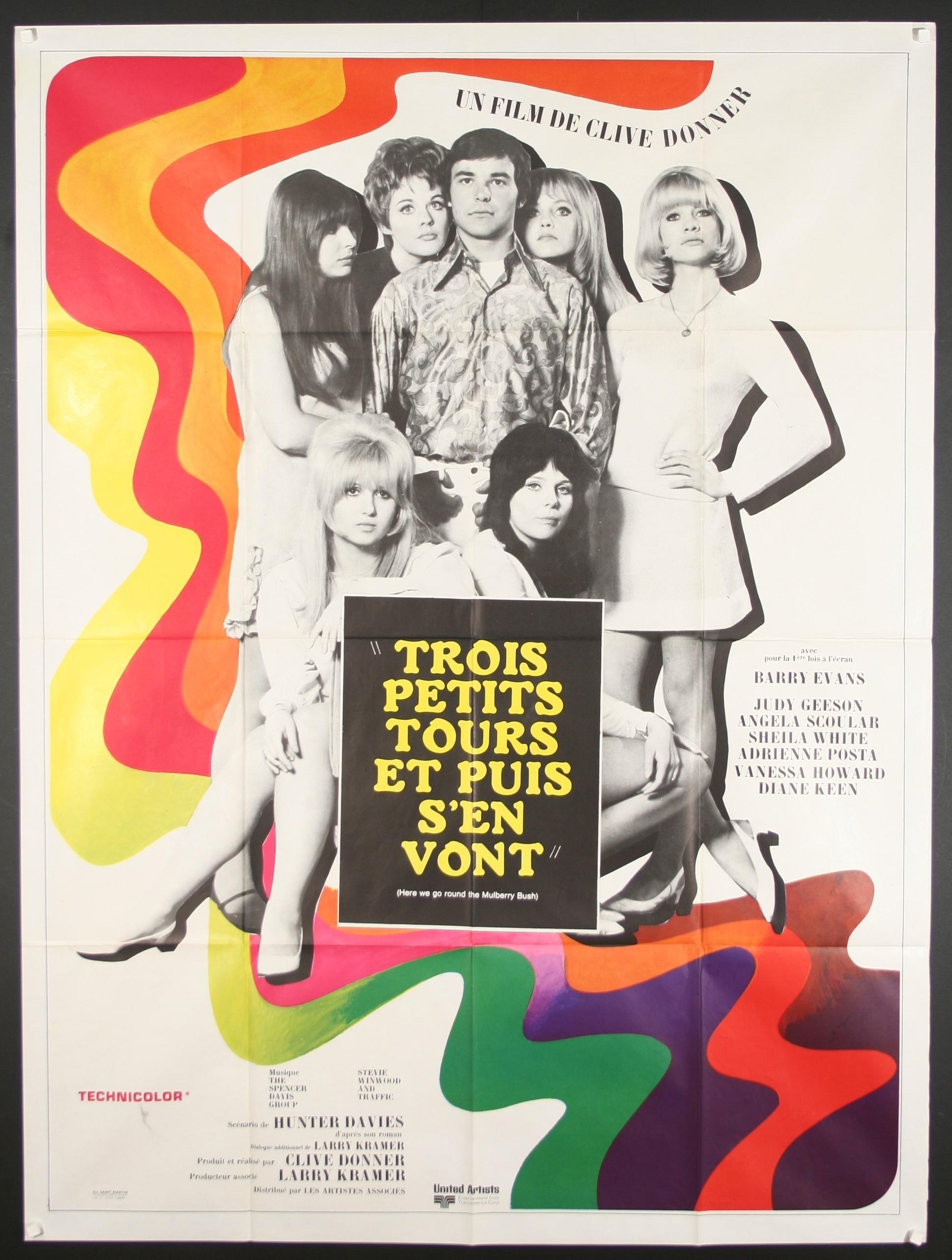 Una Pagina De Cine 1968 Here We Go Round The Mulberry Bush