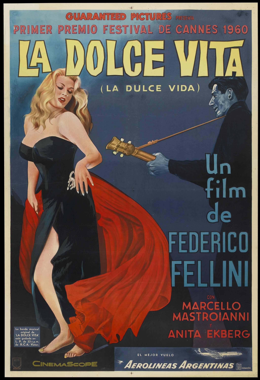 Una Pagina de Cine 1959 La dolce vita (arg) 01.jpg