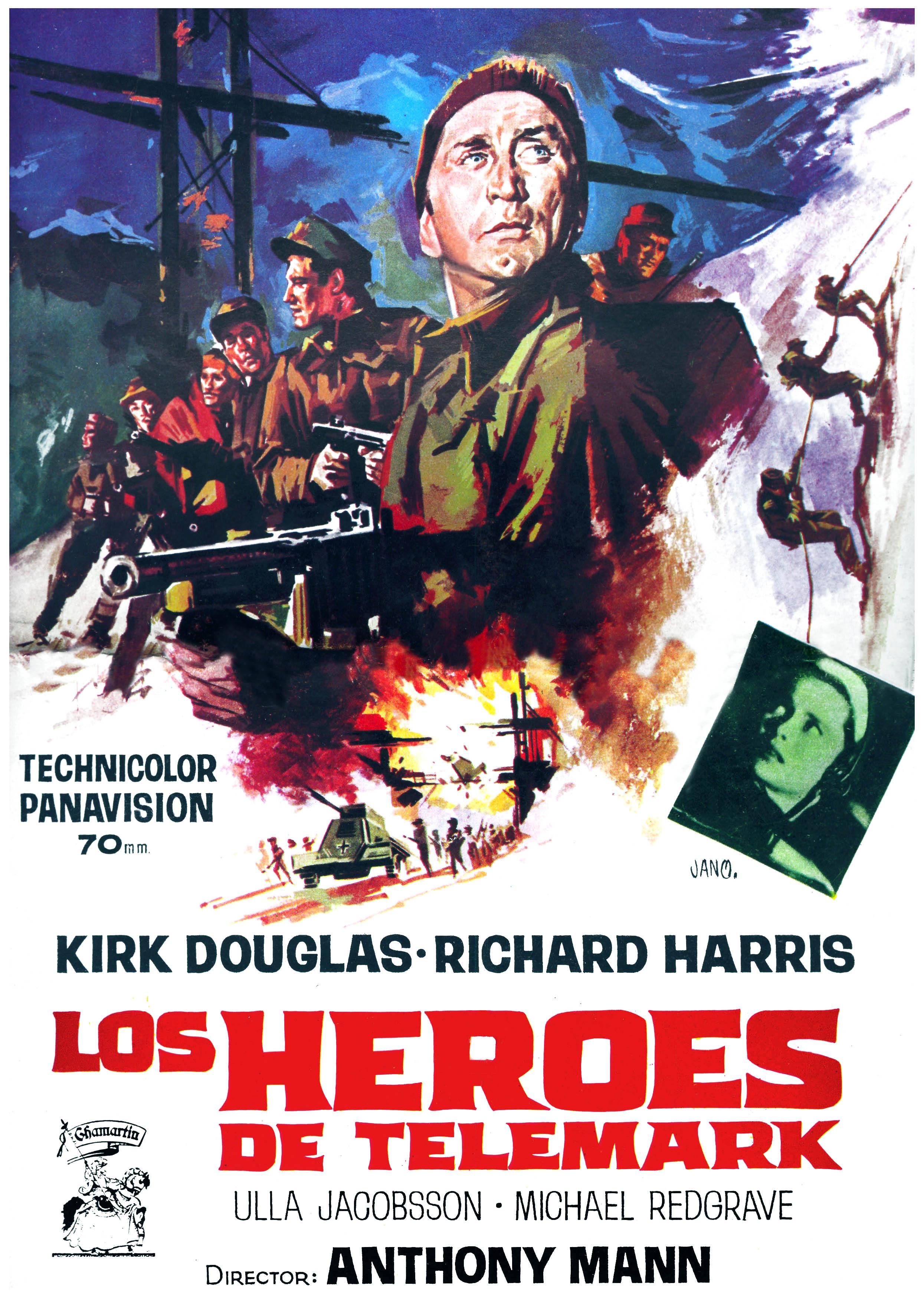 ... Cine 1966 The heroes of Telemark - Los heroes de Telemark (esp) 01.jpg