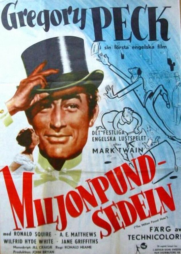 Una Pagina de Cine 1954 The million pound note - El ...