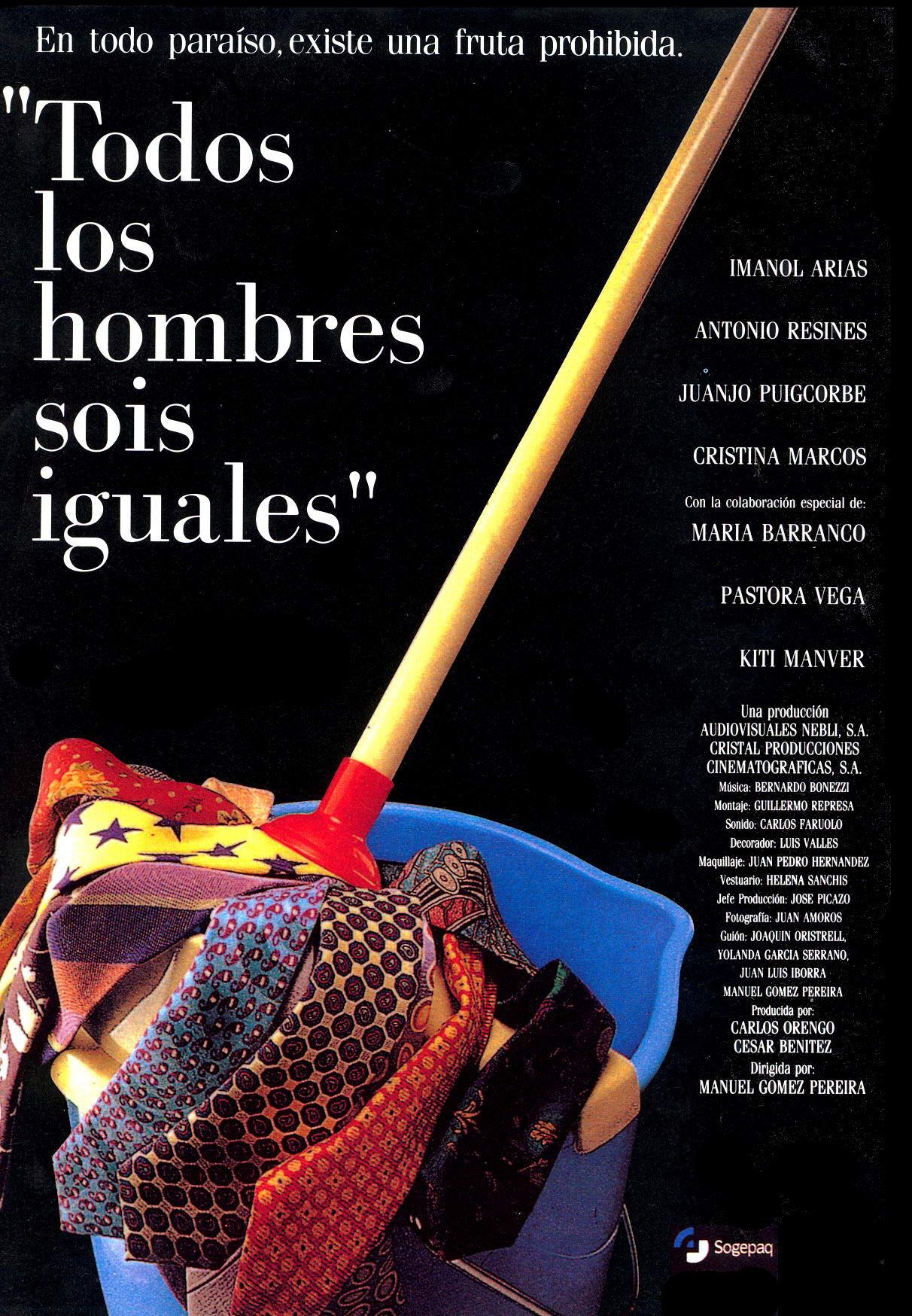 1993 Todos los hombres sois iguales (esp).jpg