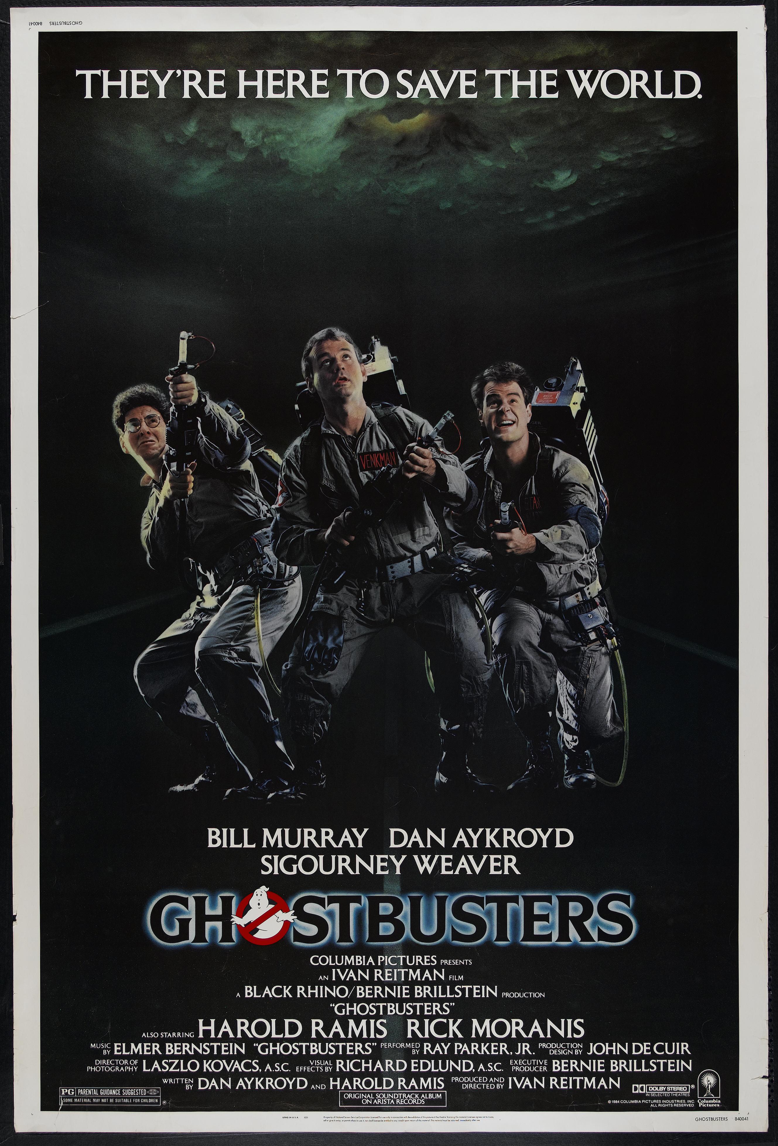 Охотники за привидениями GhostBusters.