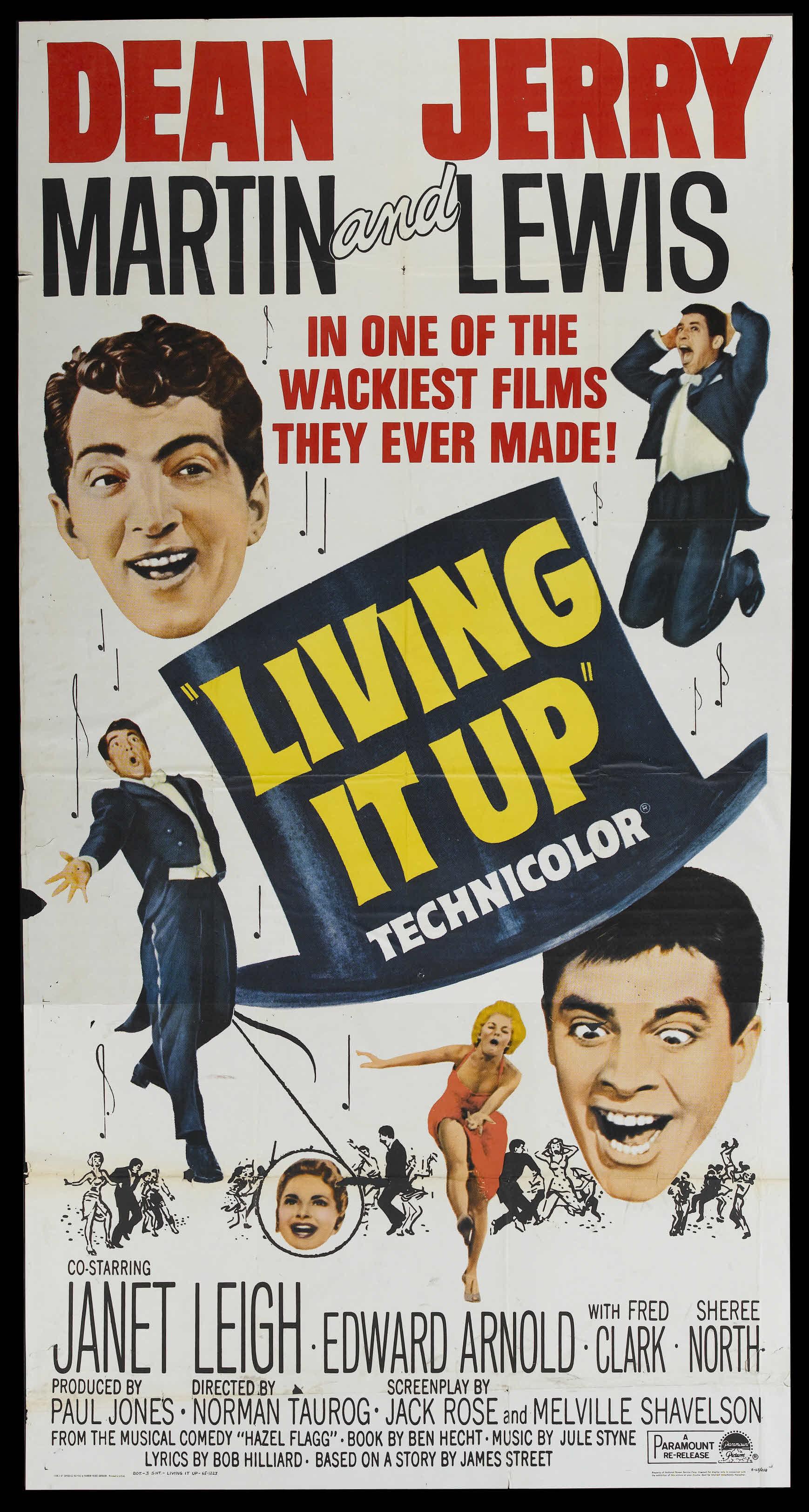 una pagina de cine 1954 living it up viviendo su vida ing ts ed 65 jpg. Black Bedroom Furniture Sets. Home Design Ideas